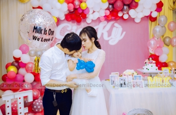 gia ky   milk is one   trang tri sinh nhat